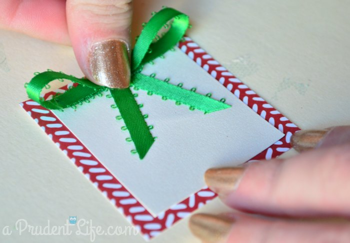 Bow 6 - Attach to Gift Tag