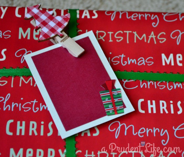 Clip on Gift Tag