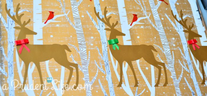 Ugly Art 1 - Bows on Reindeer