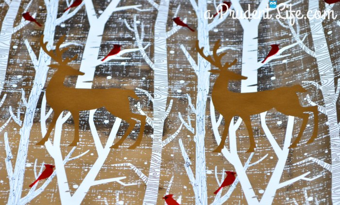 Ugly Art 1 Reindeer Paper
