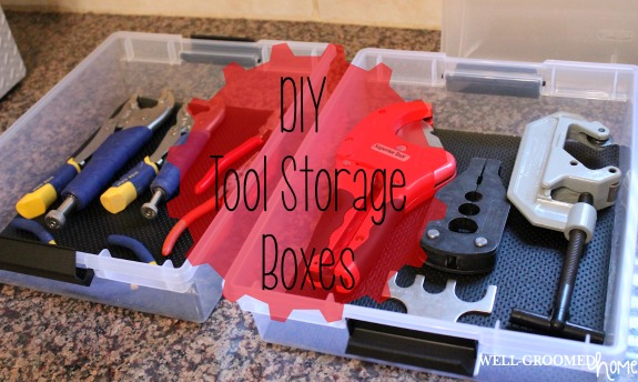 Amanda Feature - DIY Tool Storage
