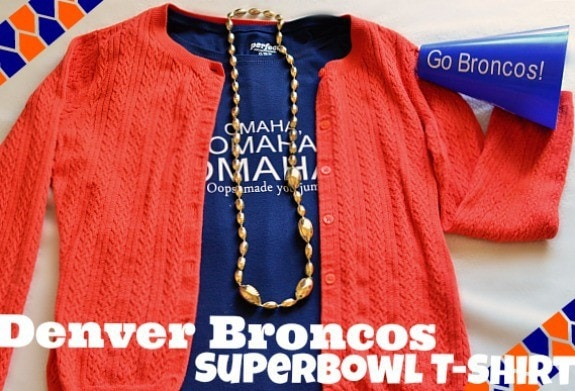 Caution - This project did NOT bring good luck to the Broncos!