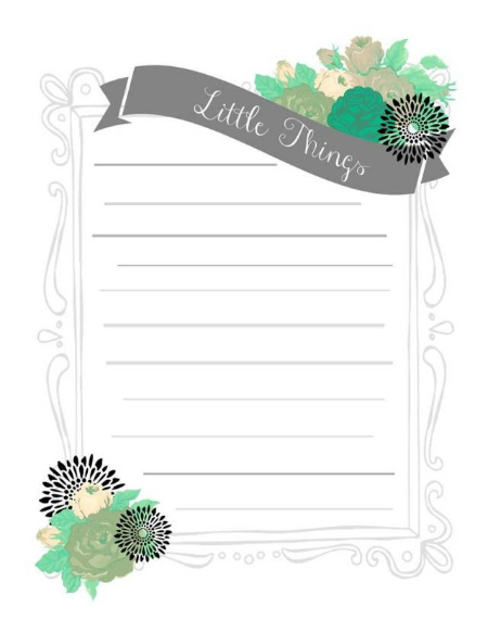 Bucket List Printable - Angela 1-2-14