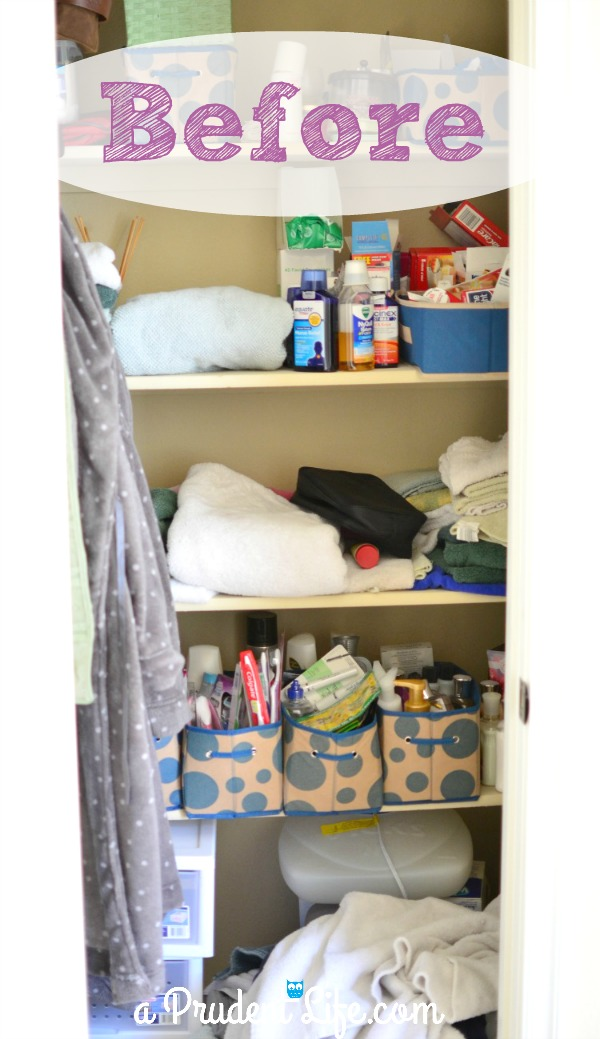 Heres A Before Pic Linen Closet