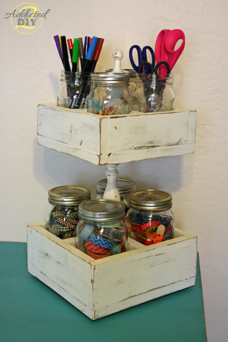 Mason Jar Caddy Katie 1-2-14