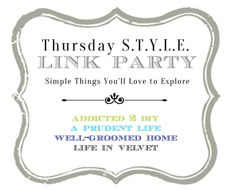 Thursday STYLE Link Party - Simple Things You'll Love to Explore