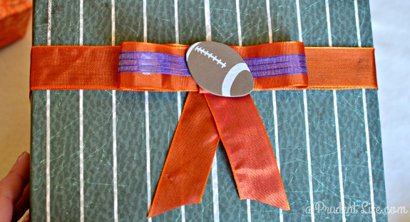 Super Bowl Gift Bow