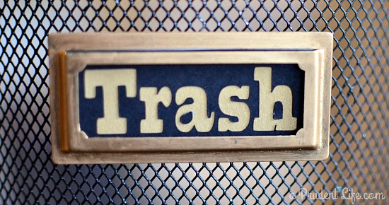 Trash Label