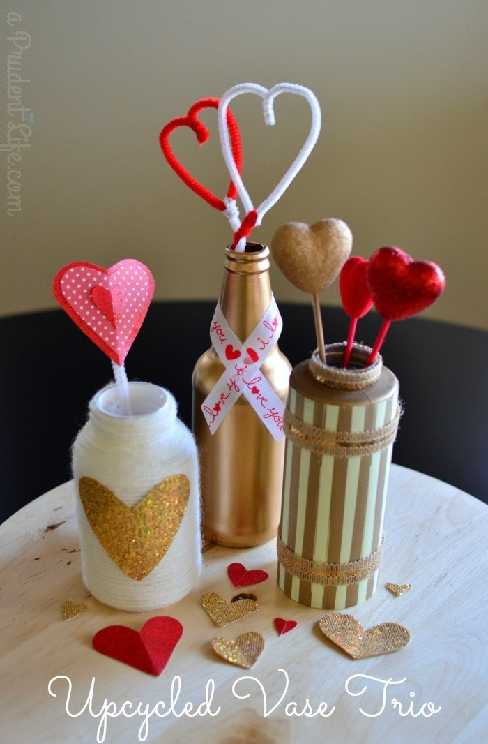 Upcycled Vase Trio Featured