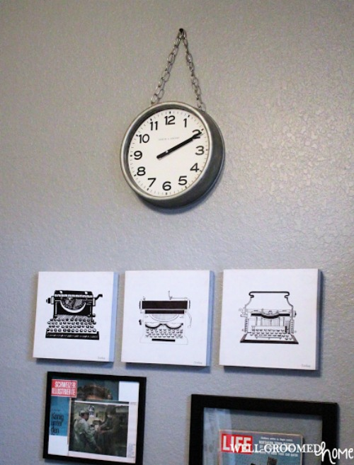 Amanda Feature Vintage Clock