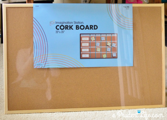 Top Cork Board Upgrade:Drab to Fab - Craft Room Project #3 - Polished  BM55