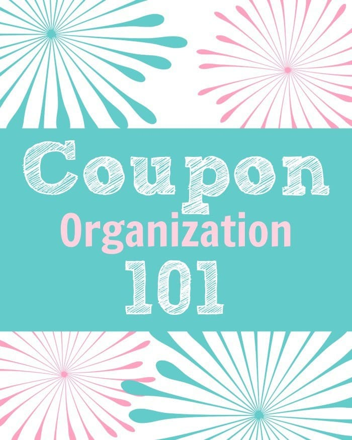 Coupon Organization 101 from A Prudent Life