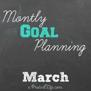 March Planning