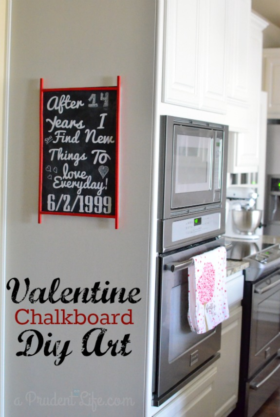 Valentine Chalkboard Featured Image