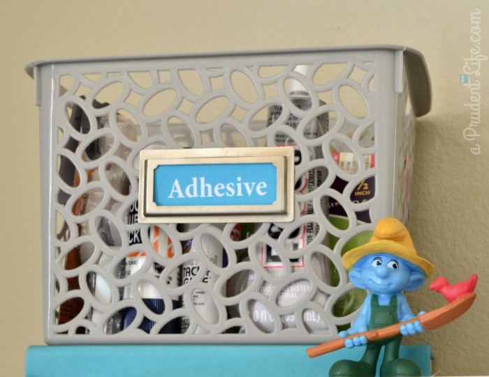 Craft Adhesive Storage