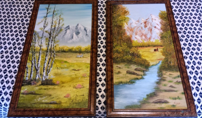 Brown Frames Before