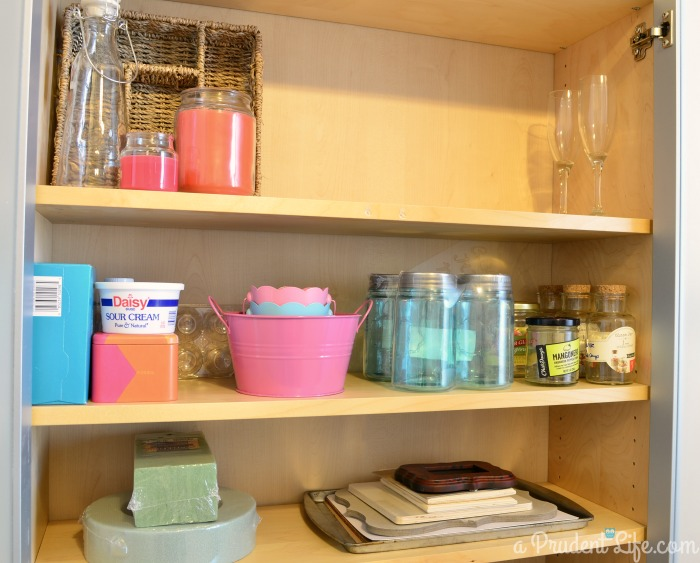 Craft Project Supplies Organized
