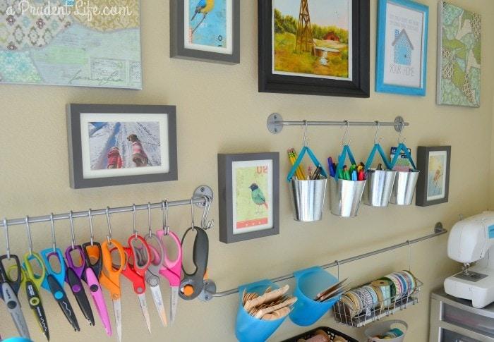 Craft Wall Gallery Close Angle