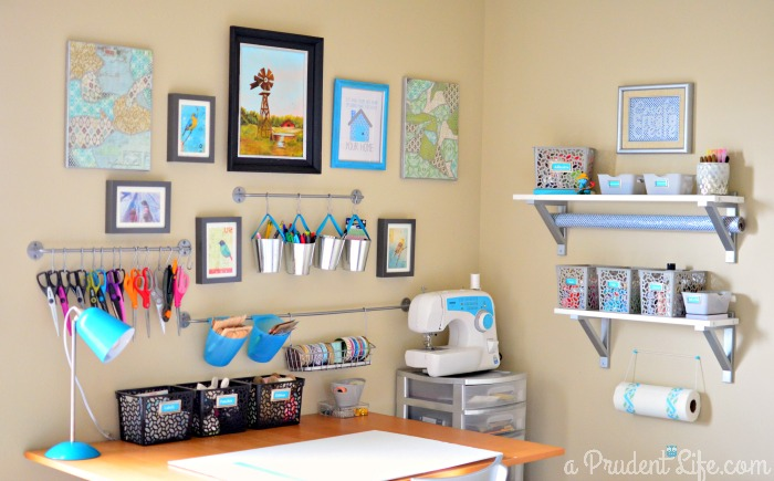 14 inspiring craft room ideas addicted 2 diy for Organize living room ideas