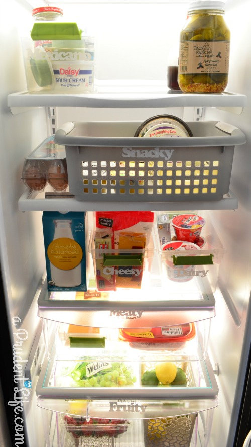 Fridge Shelves After Organization