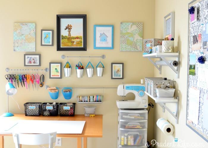 Organized Craft Corner