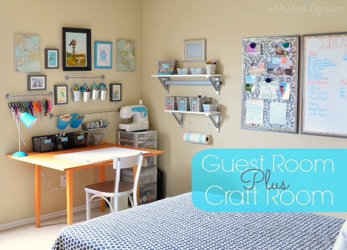 Making A Bedroom Into A Craft Room