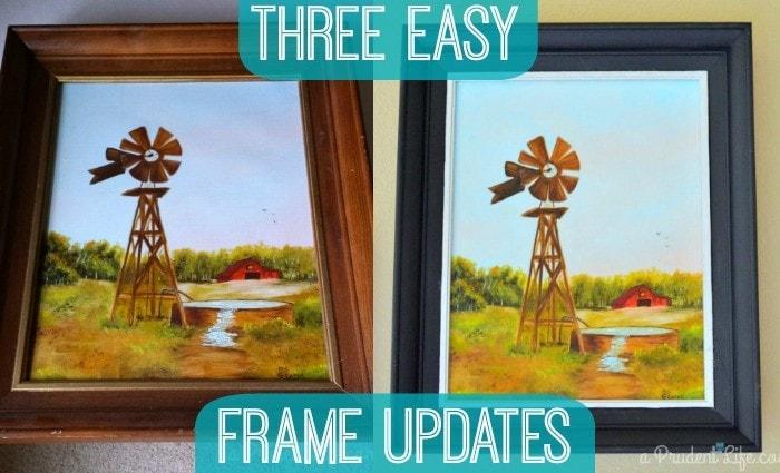 Three Frame Makeovers
