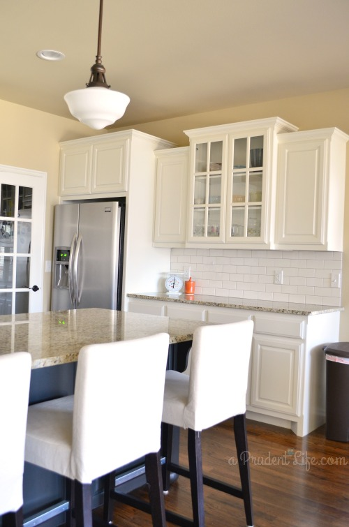 White Kitchen White Subway Tile