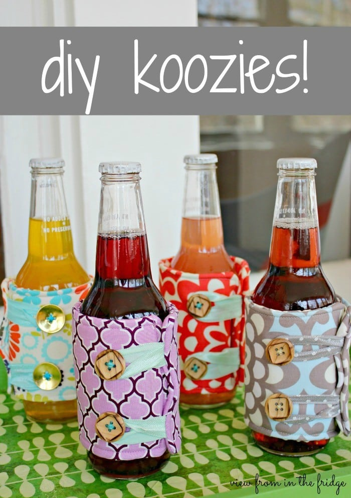 Party in style … DIY Koozies!