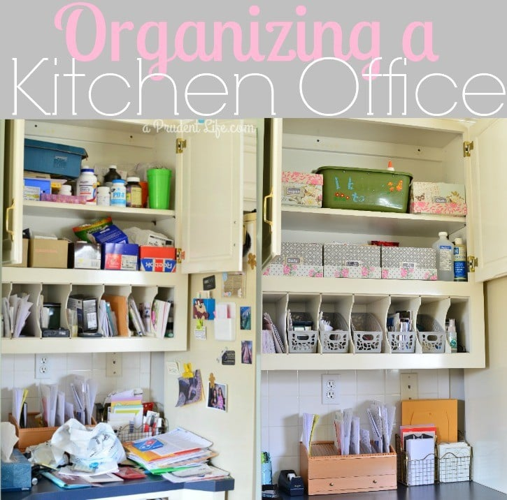 Organizing A Kitchen Office