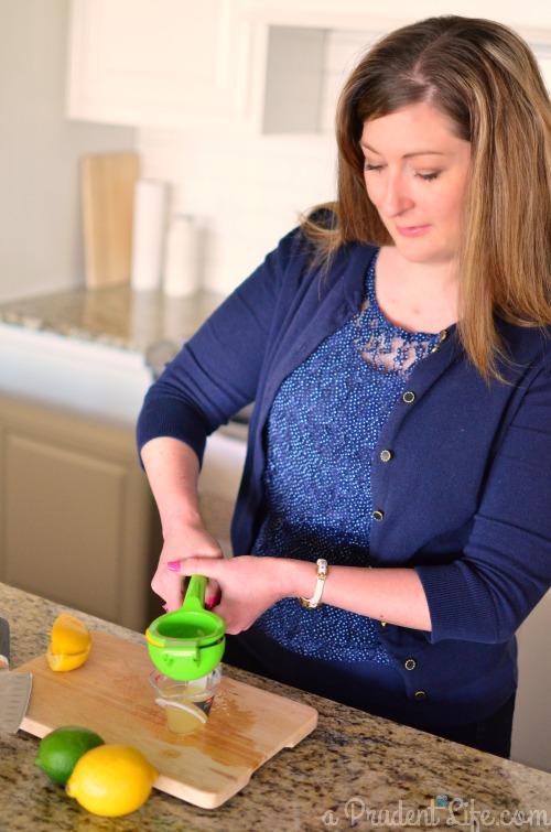 Lemon Juicing for Sidecar