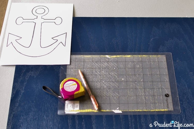 DIY Nautical Art Supplies