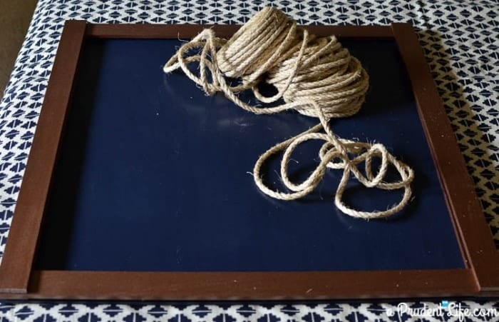 DIY Nautical Art Supplies