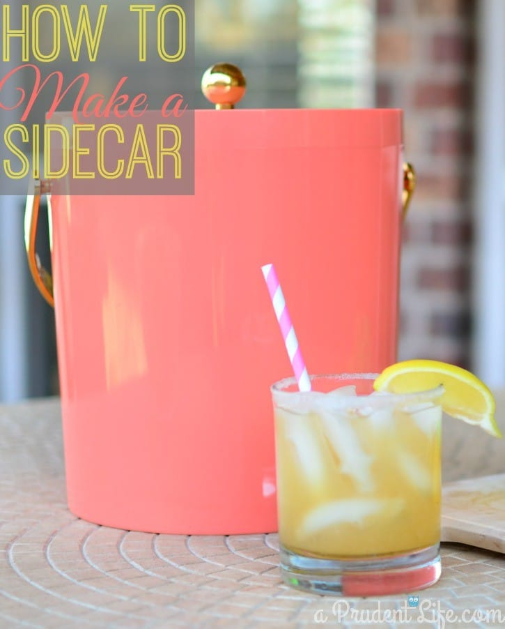 Not So Classic Sidecar Recipe: Drinks With The Girls Spring Edition