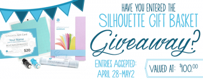 Silhouette Product Giveaway!