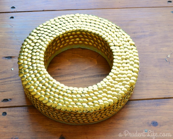 Thumbtack Wreath