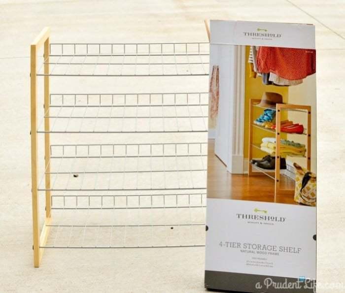 Target Threshold Shoe Shelf
