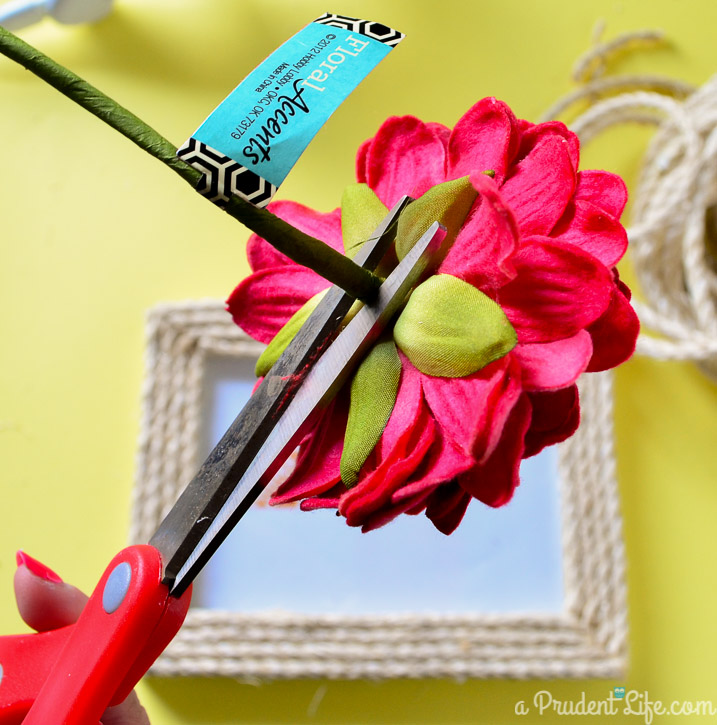 Quick & Simple Flower & Rope Frame Tutorial