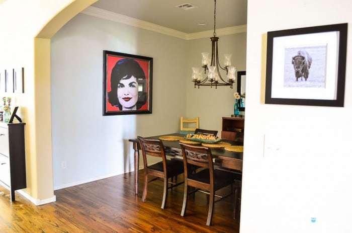 Slightly Modern Dining Room Design