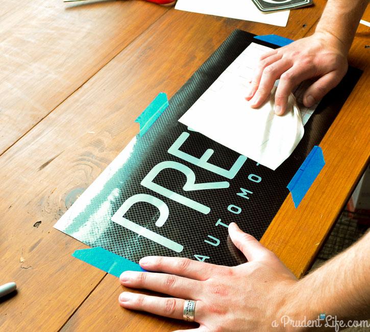 Carbon Fiber Vinyl Makes a Cool Gift for Dad
