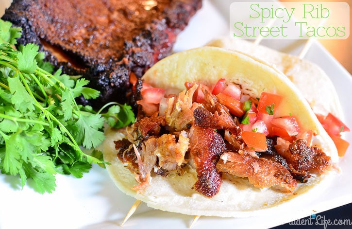 Spicy Rib Rub Recipe - Perfect for tacos!