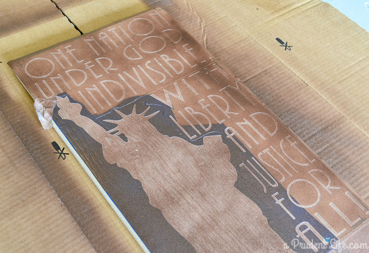 Tutorial: Using a Silhouette to make a painted wood sign