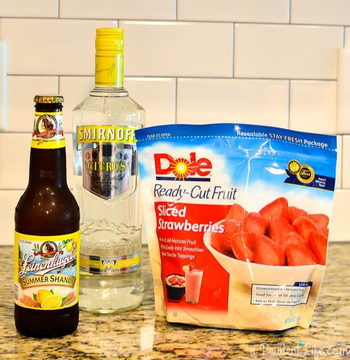 Grown Up Lemon Berry Slush Recipe