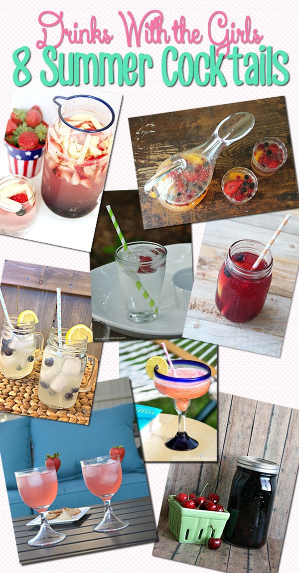 8 cocktails perfect for summer!