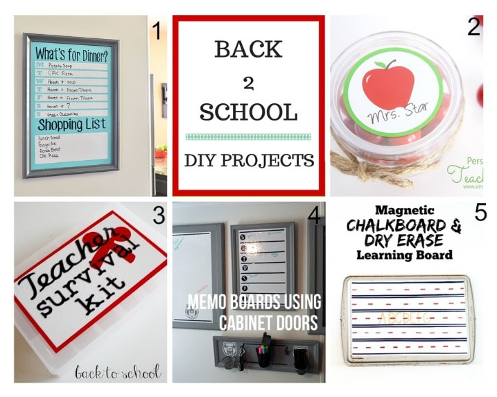 5 Great Vinyl Projects for Back to School