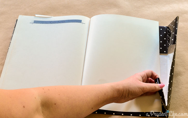 Cover a book with no tape in under 5 minutes!