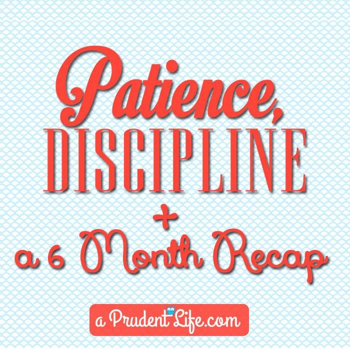 Patience-Discipline