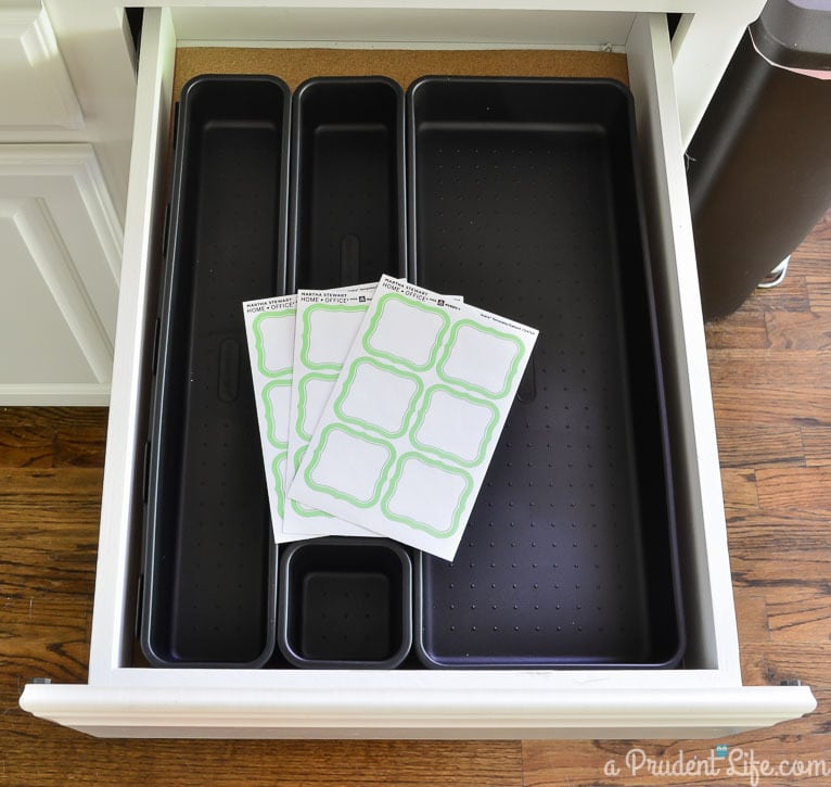 Just say no to a junk drawer with these great organizing tips!