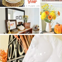 Fall Home Tour by A Prudent Life - Click to see the rest of the tour!