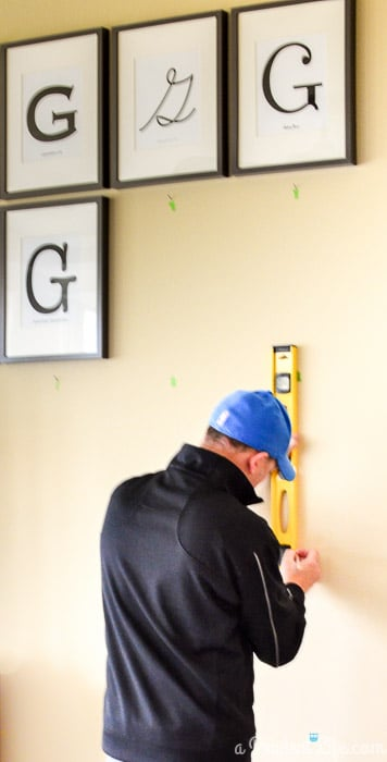 Installing a Gallery Wall
